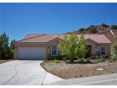 Acton Single Family Home Active Under Contract: 34587 Desert Road