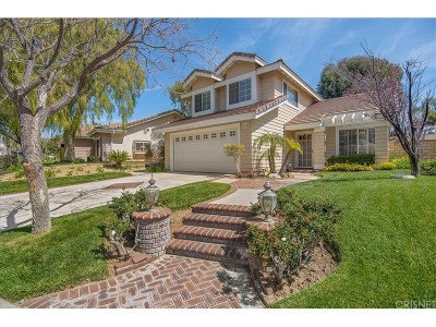 Valencia Single Family Home Active Under Contract: 27108 Sanford Way