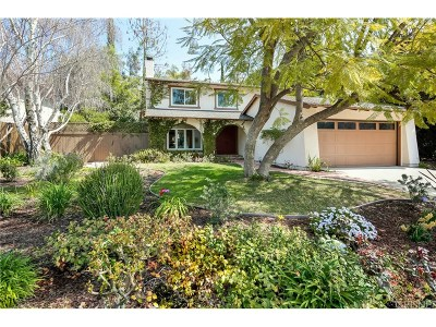 Agoura Hills Single Family Home Active Under Contract: 30729 Lakefront Drive