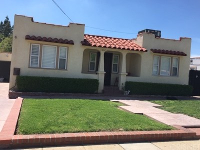 San Fernando Single Family Home Active Under Contract: 1412 Warren Street