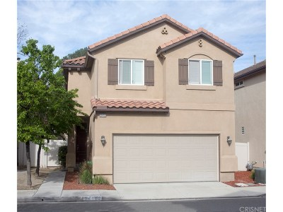 Castaic Single Family Home Active Under Contract: 31419 Arena Drive