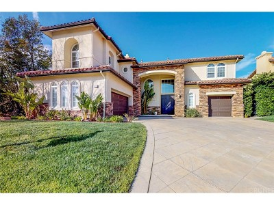 Simi Valley Single Family Home For Sale: 5917 Evening Sky Drive