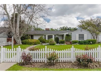 Encino Single Family Home For Sale: 5006 Hayvenhurst Avenue