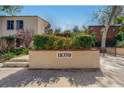 Tarzana Condo/Townhouse For Sale: 18350 Hatteras Street #122
