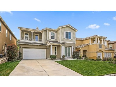 Canyon Country Single Family Home For Sale: 15946 Thompson Ranch Drive