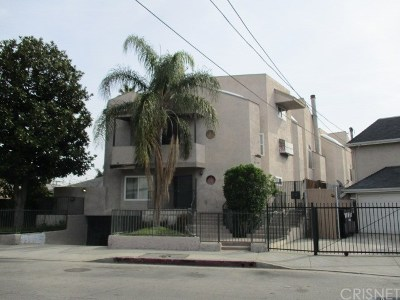 North Hollywood Condo/Townhouse For Auction: 6124 Hazelhurst Place #5