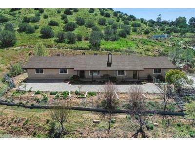 Acton Single Family Home For Sale: 31620 Indian Oak Road