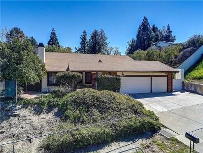 Granada Hills Single Family Home Active Under Contract: 11916 Rexbon Road