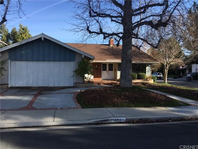Valencia Single Family Home For Sale: 23903 Via Aranda