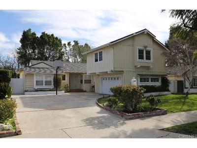 Northridge Single Family Home Active Under Contract: 18146 Schoenborn Street