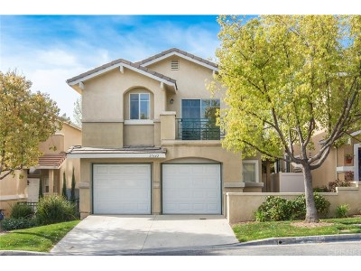 Castaic Single Family Home Active Under Contract: 27642 Iris Place