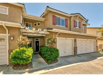 Valencia CA Condo/Townhouse For Sale: $365,000