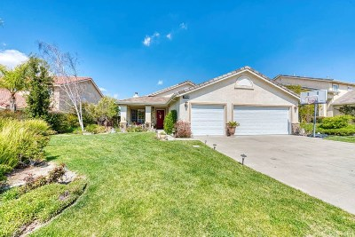 Canyon Country Single Family Home Active Under Contract: 19715 May Way