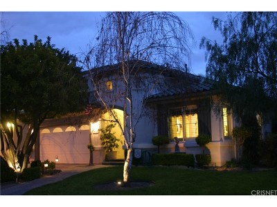 Stevenson Ranch Single Family Home Active Under Contract: 26050 Singer Place