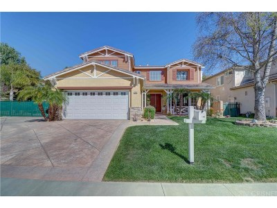 Simi Valley Single Family Home For Sale: 1046 Poplar Court
