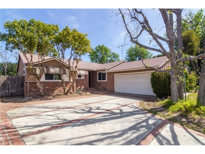 Woodland Hills Single Family Home Active Under Contract: 6428 Lubao Avenue