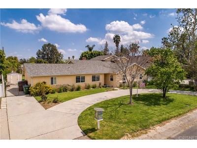 Winnetka Single Family Home Active Under Contract: 8640 Oakdale Avenue