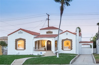 Los Angeles County Single Family Home For Sale: 4814 South Victoria Avenue