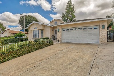 Castaic Single Family Home Active Under Contract: 28002 Nares Drive