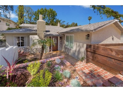 Woodland Hills Single Family Home For Sale: 5243 Baza Avenue