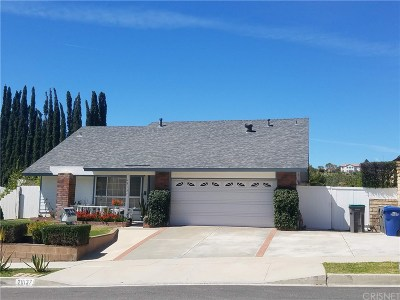 Canyon Country Single Family Home For Sale: 28137 Bakerton Avenue