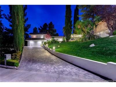 Tarzana Single Family Home For Sale: 19450 Greenbriar Drive