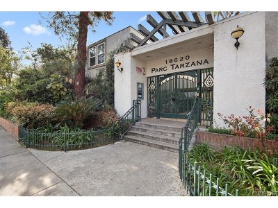 Tarzana Condo/Townhouse For Sale: 18620 Hatteras Street #276