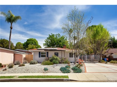 Woodland Hills Single Family Home Active Under Contract: 4750 Santa Lucia Drive