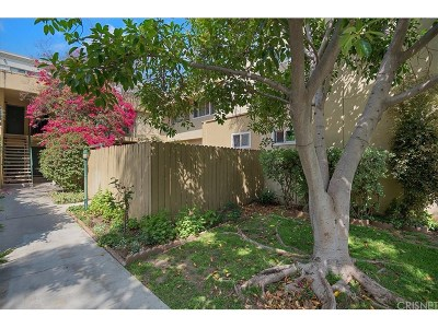 Studio City Condo/Townhouse Active Under Contract: 11138 Aqua Vista Street #61
