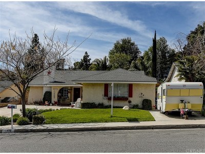Canyon Country Single Family Home For Sale: 28453 Winterdale Drive