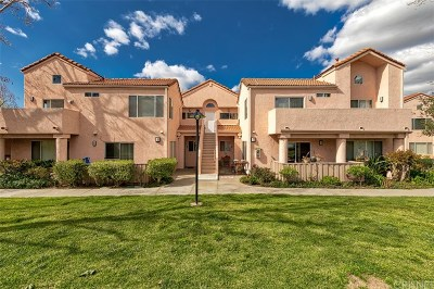Newhall Condo/Townhouse Active Under Contract: 24432 Valle Del Oro #203