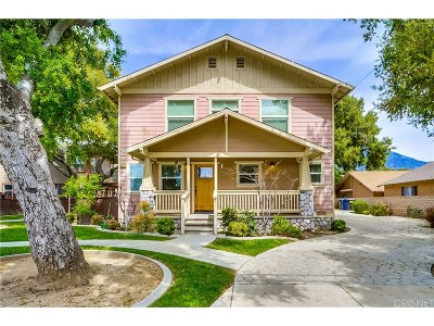 Monrovia Single Family Home For Sale: 727 Montana Street