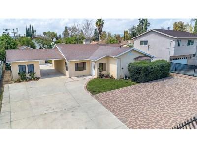 Northridge Single Family Home Active Under Contract: 8539 Yolanda Avenue