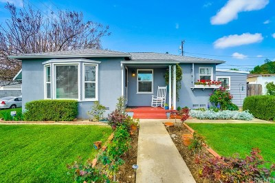 Reseda Single Family Home Active Under Contract: 7001 Yarmouth Avenue