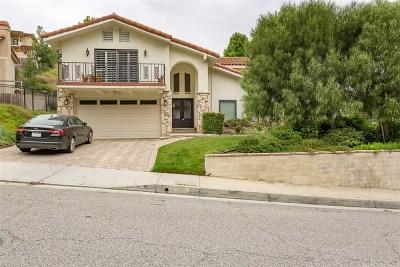 Agoura Hills Single Family Home Active Under Contract: 27957 Via Amistosa