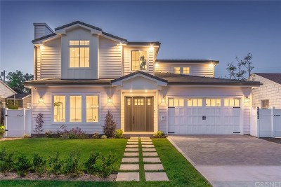 Sherman Oaks Single Family Home Active Under Contract: 13933 Hesby Street