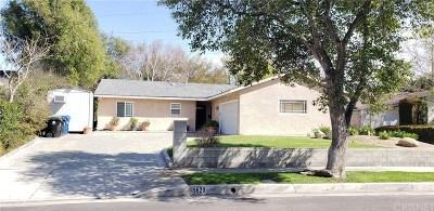 Northridge Single Family Home For Sale: 9620 Crebs Avenue