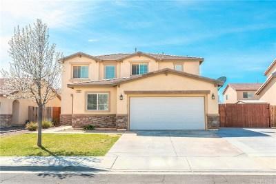 Rosamond Single Family Home For Sale: 3408 Gemstone Avenue