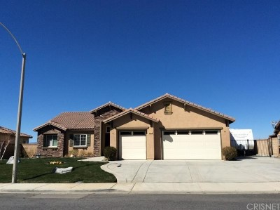Palmdale Single Family Home For Sale: 6531 Imbianco Court