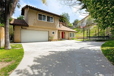 Calabasas Single Family Home For Sale: 22236 Craft Court