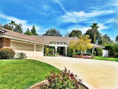Simi Valley Single Family Home Active Under Contract: 436 Oldstone Place