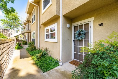 Simi Valley Condo/Townhouse Active Under Contract: 2731 Erringer Road #18