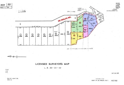 Newhall Residential Lots & Land For Sale: De Wolfe Road