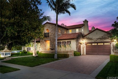 Calabasas Single Family Home For Sale: 4166 Prado De La Puma