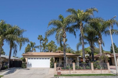 Sylmar Single Family Home Active Under Contract: 12055 Hoyt Street