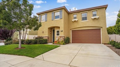 Canyon Country Single Family Home Active Under Contract: 17191 Monterey Pines Lane