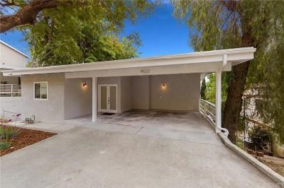 Woodland Hills Single Family Home Sold: 4522 Ensenada Drive