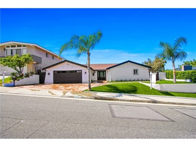 Calabasas Single Family Home For Sale: 22870 Paul Revere Drive