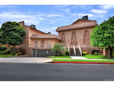 Burbank Condo/Townhouse Active Under Contract: 1701 Scott Road #110