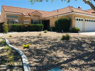 Palmdale Single Family Home For Sale: 38058 Riviera Court